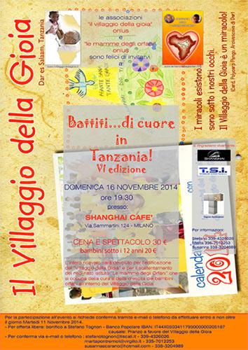 Il villaggio della gioia onlus domenica 16 novembre - Art 16 bis tuir causale bonifico ...